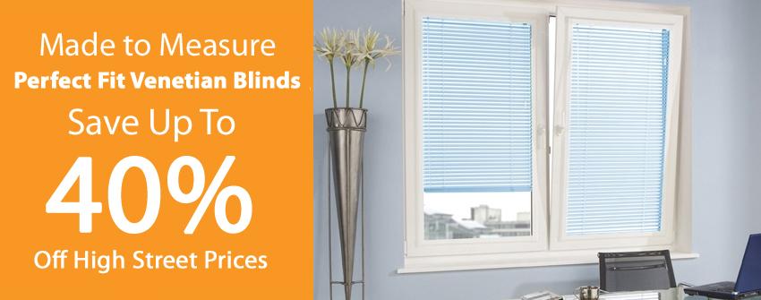 Perfect Fit Aluminium Venetian Blinds