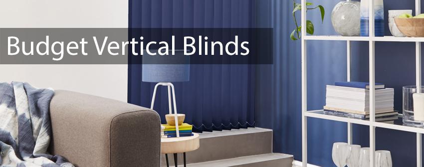Budget Vertical Blinds
